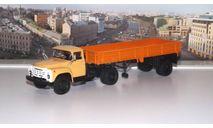 ЗИЛ 130В1 с полуприцепом ОДАЗ 885  АИСТ, масштабная модель, 1:43, 1/43, Автоистория (АИСТ)