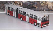 Ikarus-280.33 красно-белый  Икарус   СОВА, масштабная модель, scale43, Советский Автобус