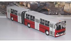 Ikarus-280.33 красно-белый  Икарус   СОВА, масштабная модель, Советский Автобус, scale43