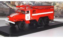 АЦ 40 ( Урал 375Н )  Ц1А ПЧ №9 г. Москва   SSM, масштабная модель, scale43, Start Scale Models (SSM)