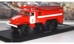АЦ 40 ( Урал 375Н )  Ц1А ПЧ №9 г. Москва   SSM, масштабная модель, 1:43, 1/43, Start Scale Models (SSM)