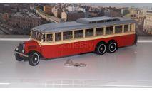 ЯА 2 ЯГАЗ автобус (1934г.) красный  Ультра, масштабная модель, 1:43, 1/43, ULTRA Models