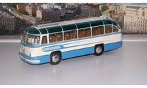 ЛАЗ 695Б туристический Комета (1958), белый / голубой Ультра, масштабная модель, 1:43, 1/43, ULTRA Models