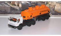 КАМАЗ-54112 с полуприцепом НЕФАЗ-96742  ПАО КАМАЗ, масштабная модель, scale43