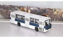 Ikarus-260 бело-синий   Икарус  СОВА, масштабная модель, 1:43, 1/43, Советский Автобус