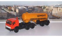 КАМАЗ-54112 с полуприцепом-цементовозом ТЦ-11   ПАО КАМАЗ, масштабная модель, 1:43, 1/43, Автоистория (АИСТ)
