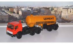 КАМАЗ-54112 с полуприцепом-цементовозом ТЦ-11   ПАО КАМАЗ