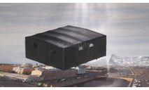 Тент АТ-Т  с остеклением   AVD, запчасти для масштабных моделей, Start Scale Models (SSM), ЗИЛ, scale43
