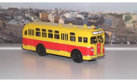ЗИС 155 красно-жёлтый   АИСТ, масштабная модель, 1:43, 1/43, Автоистория (АИСТ)