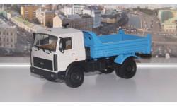 МАЗ 55514020  (1996-1999г.), серый / синий  НАП, масштабная модель, 1:43, 1/43, Наш Автопром