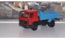 МАЗ 55514020  (1996-1999г.), касный / синий  НАП, масштабная модель, 1:43, 1/43, Наш Автопром
