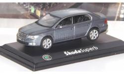 Skoda Superb II (2008)  Abrex, масштабная модель, Škoda, scale43