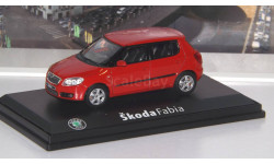 Skoda Fabia II   Abrex, масштабная модель, 1:43, 1/43, Škoda
