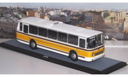ЛАЗ  699Р бело-жёлтый  ClassicBus, масштабная модель, scale43