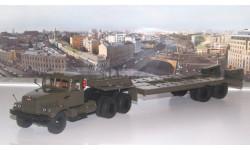 КрАЗ-258Б1 с полуприцепом-тяжеловозом ЧМЗАП-5523   SSM