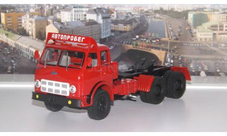 МАЗ 515А Автопробег (1974г.) темно-красный НАП, масштабная модель, 1:43, 1/43, Наш Автопром