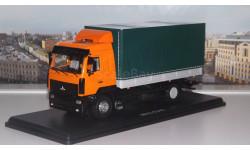 МАЗ  5340   оранжевый/зеленый    SSM, масштабная модель, 1:43, 1/43, Start Scale Models (SSM)