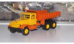 КРАЗ 222Б/256Б (1969г.) желто-оранжевый НАП, масштабная модель, 1:43, 1/43, Наш Автопром