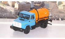 Легендарные грузовики СССР №5, ЗИЛ-КО-520 (4333)  MODIMIO, масштабная модель, scale43