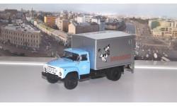 Фургон с грузоподъёмным бортом У-165 Молоко (на шасси ЗИЛ-130) АИСТ