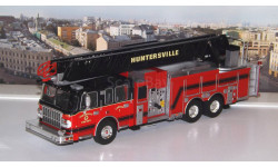 SMEAL Spartan Gladiator 105' RM Ladder 'Huntersville Fire Department'  2014г. IXO, масштабная модель, scale43