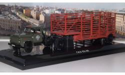 ГАЗ 52-06 с полуприцепом-таровозом 'Мосторгтранс'  DiP