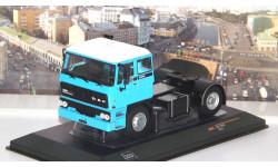 DAF 2800 1975 Light Blue / White   IXO, масштабная модель, 1:43, 1/43