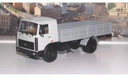 МАЗ 53371 бортовой (1991-1999г.), серый НАП, масштабная модель, 1:43, 1/43, Наш Автопром