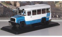 КАвЗ  3976 (бело-голубой)  SSM, масштабная модель, scale43, Start Scale Models (SSM)