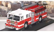 SEAGRAVE Marauder II 'Charlotte Fire Department' 2007 Red/White  IXO, масштабная модель, scale43