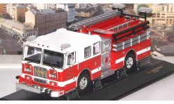 SEAGRAVE Marauder II 'Charlotte Fire Department' 2007 Red/White  IXO