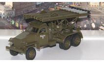 Studebaker US6 БМ-13 'Катюша'   АИСТ, масштабная модель, scale43, Автоистория (АИСТ)