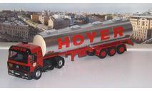 MERCEDES-BENZ SK 1844 с полуприцепом-цистерной 'HOYER' 1994   IXO, масштабная модель, scale43