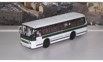 ЛАЗ 695Р бело-зеленый СОВА, масштабная модель, 1:43, 1/43, Советский Автобус