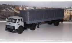 МАЗ-504В с полуприцепом 9380 1/2 серый  НАП