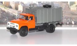 Мусоровоз с боковой загрузкой КО-413 (на шасси ЗИЛ 130)  АИСТ, масштабная модель, 1:43, 1/43, Автоистория (АИСТ)