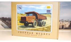 Сборная модель МАЗ-530 карьерный самосвал (40 тонн)    AVD Models KIT
