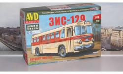 Сборная модель ЗИС-129  AVD Models KIT, масштабная модель, scale43