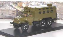 УРАЛ-375  кунг К-375   SSM, масштабная модель, 1:43, 1/43, Start Scale Models (SSM)
