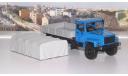 ГАЗ 3308 4х4 (двигатель ЗМЗ-513) бортовой с тентом,   АИСТ, масштабная модель, 1:43, 1/43, Автоистория (АИСТ)