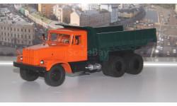 КрАЗ  256Б самосвал (оранжево/зелёный)   SSM