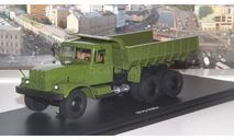 КрАЗ  256Б самосвал (хаки) в боксе   SSM, масштабная модель, 1:43, 1/43, Start Scale Models (SSM)