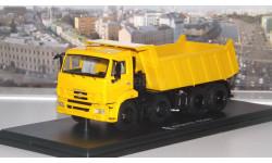 КАМАЗ-6540 8х4 самосвал (жёлтый )  SSM