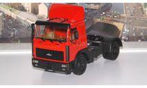 МАЗ 54326 (1988-1993г.) красный НАП, масштабная модель, 1:43, 1/43, Наш Автопром