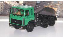 МАЗ 64221  (1989-1991г.) зелёный   НАП, масштабная модель, 1:43, 1/43, Наш Автопром