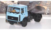 МАЗ 54321  (1988-1991г.)  голубой   НАП, масштабная модель, 1:43, 1/43, Наш Автопром