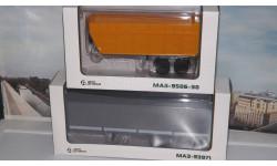 2 полуприцепа МАЗ-93971 и  МАЗ-9506-30  АИСТ