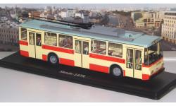 Троллейбус Skoda-14TR (красно-бежевый)  SSM