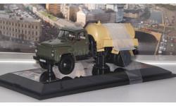 Горьковский грузовик тип АВВ-3,6 Автомобиль-цистерна для перевозки воды (1984 г.), хаки / бежевый  Dip