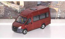 ГАЗель Next A65R22 пассажирская, темно-красный   НАП, масштабная модель, Наш Автопром, scale43